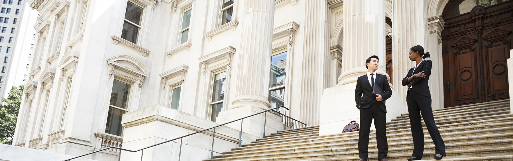 courtroom steps